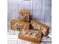 Подарочная коробка с декупажем (20х10 см)
