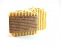 Натуральное шелковое крем-мыло Календула  (95-100 г)